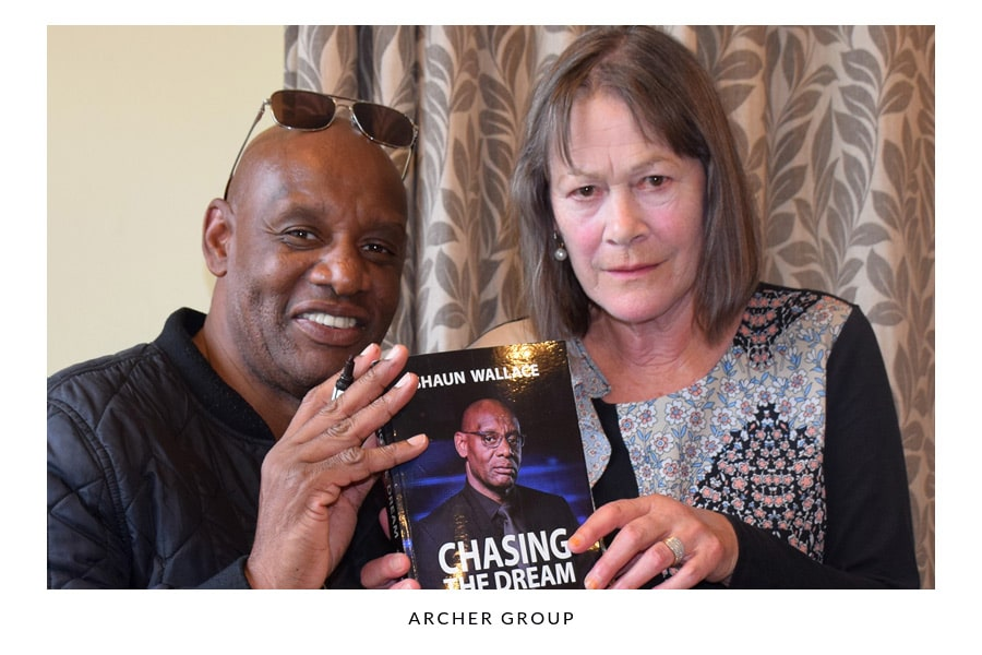 The Chase' Shaun Wallace Visits Archer