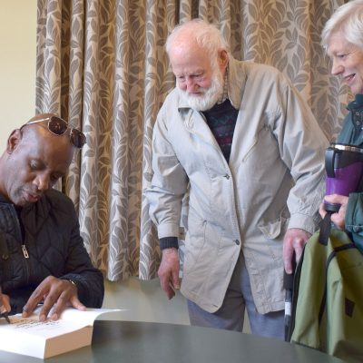 Shaun Wallace of The Chase visits Archer Retirement Village